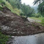 V občini Šmarje pri Jelšah več zapor cest zaradi plazov sproženih ob neurju