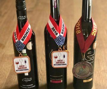 Nagrajena vina – ZDA