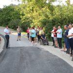 Obeležili so sanacijo plazu na cesti Sv. Florijan – Galun