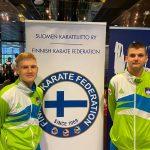 7. mesto Jakoba Žumra na evropskem mladinskem prvenstvu v karateju na Finskem