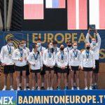 Padel zastor na evropsko prvenstvo v badmintonu U17 v Podčetrtku