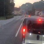 Zaradi prometne nesreče nekaj časa zaprta cesta Šentjur – Celje (foto)
