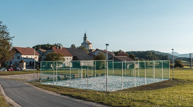 To je prenovljen športno-rekreacijski park pri šoli v Kostrivnici (foto)