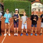 V Kozjem se je odvil finale 17. sezone poletnih turnirjev mladih tenisačev