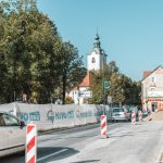 O gradbenih delih v Šmarju: kdaj spet normalno skozi center in kako bo zgledalo križišče pri Kašči